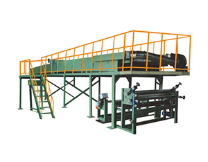 HR-120-160A型桥架式不干胶复合机